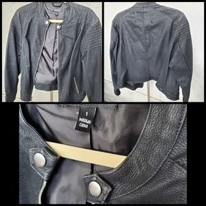 Torrid leather jacket size 1